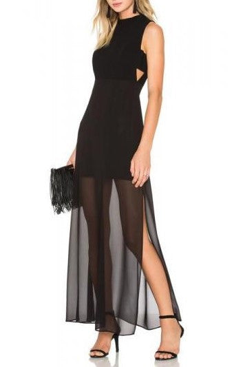 BCBG Generation- Cut-Out Evening Dress