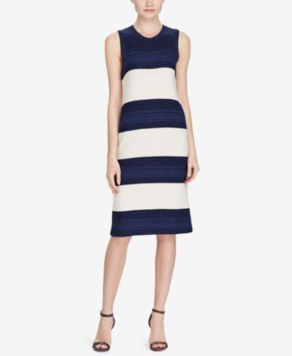 Lauren Ralph Lauren Women's Striped Sweater Dress
