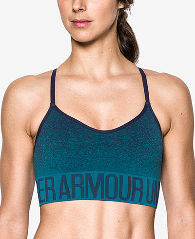 UNDER ARMOUR ARMOUR- OMBRE' FABRIC WIRE-FREE SPORTS BRA