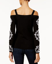 I.N.C. Cold-Shoulder Sweater