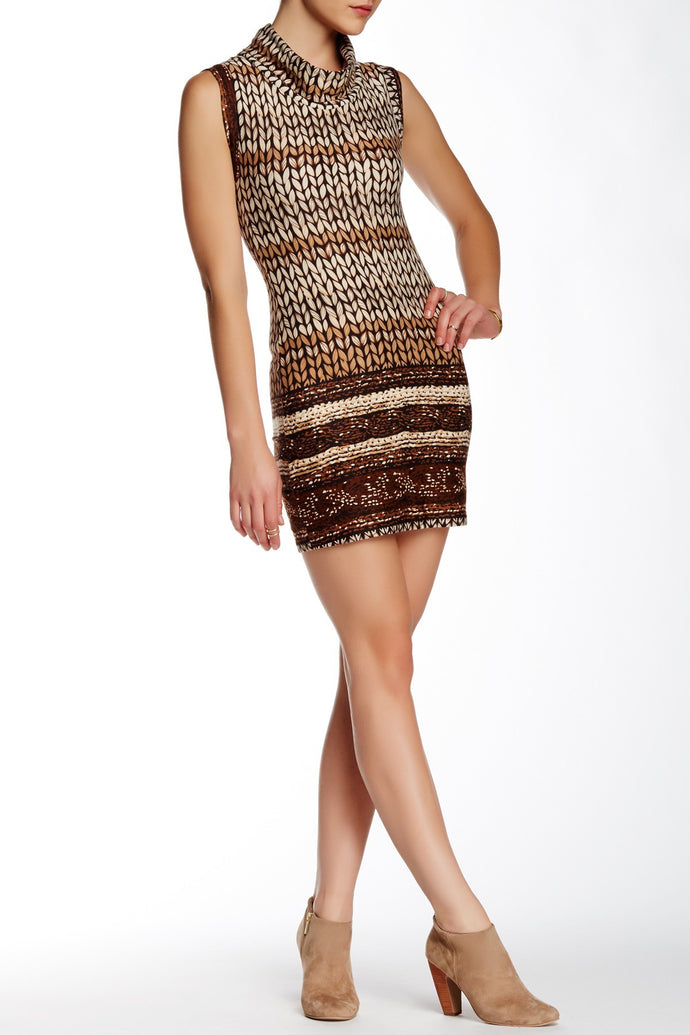 Papillon Sleeveless Sweater Dress