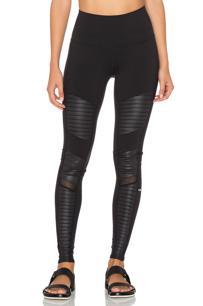 ALO Extreme High Waist Moto Leggings   SOLD OUT