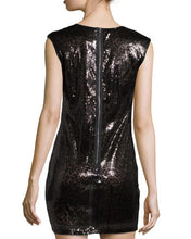 ROMEO & JULIET - Sequined Sleeveless Dress, Black