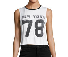 Prince Peter Collection - New York 78 Graphic Crop Tee