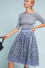 Anthropologie, Eliza J Tulle Floral Skirt  SOLD OUT