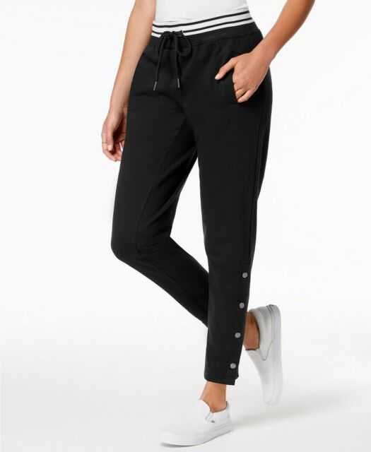 Ultra Flirt - Snapped Drawstring Jogger Pants