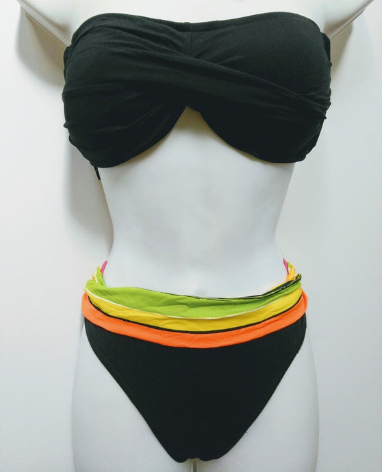 Anne Cole Bandeau Two Pieces Swimwear