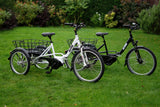 Alpine Electric Bikes - Premium Folding Electric Trike - e Tricycle Mobility Scooter