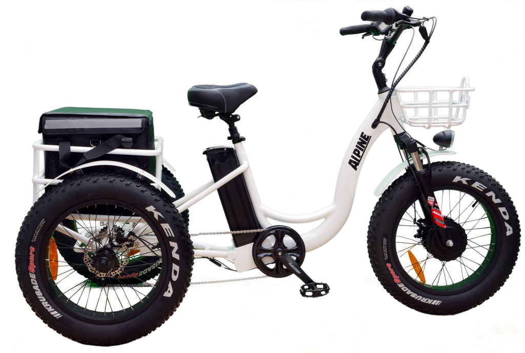 Alpine Electric Bikes - Electric Explorer Trike - e Tricycle