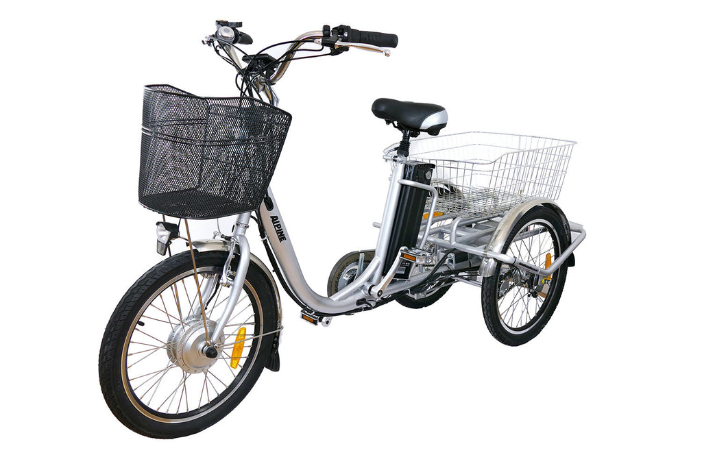 Alpine Electric Bikes - Electric Tilt Trike - e Tricycle