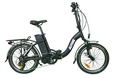 Alpine Electric Bikes - Compact Folding Electric Bike - ebike