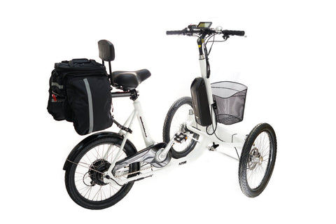 Alpine Electric Bikes - Electric Easy Trike - e Tricycle Mobility Scooter