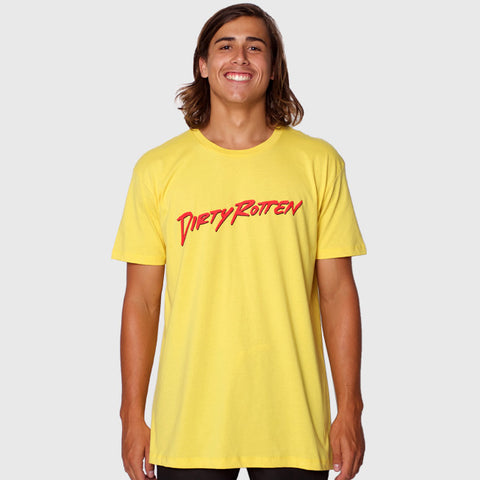 SLASHER TEE YELLOW