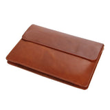Handmade Genuine Leather Men Clutch Bag | Leather Wallet | Brown