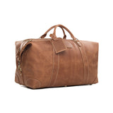 Handcrafted Vintage Style Top Grain Calfskin Leather Travel Bag | Duffle Bag | Holdall Luggage