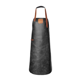 Leather Apron | BBQ Apron | Kitchen Apron | Black & Brown
