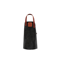 Kid Leather Apron | Black/Cognac