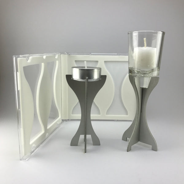 Compact Shabbat Candles