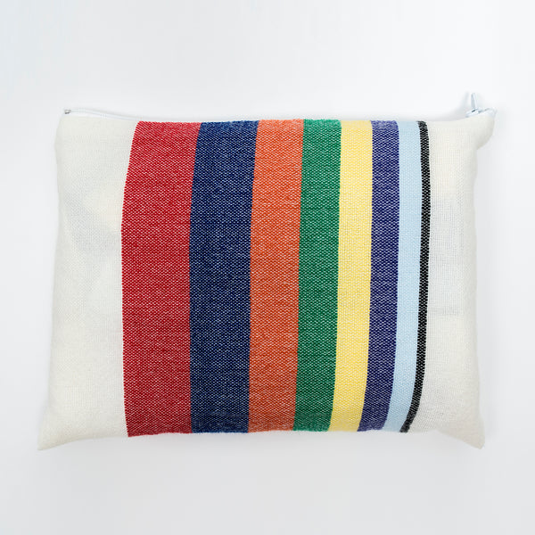 Esther - Wool Tallit - Rainbow Stripes