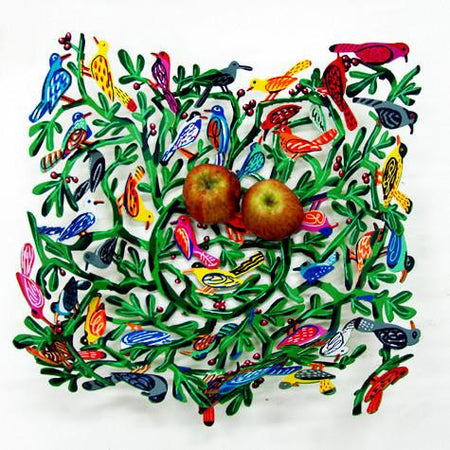 Birds of the World Fruit Bowl