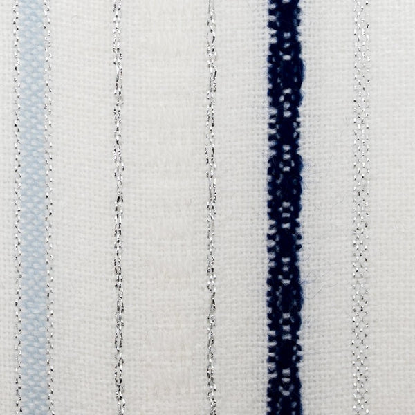 Tablecloths - Classic Design - Blue and Baby Blue with Silver on White