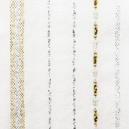 Tablecloths - Classic Design - Silver and Gold on White