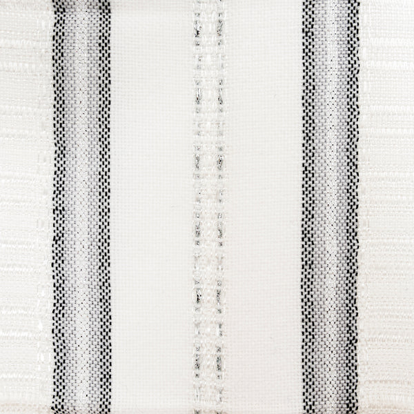 Tablecloths - Gabrieli Design - Black and Silver on White