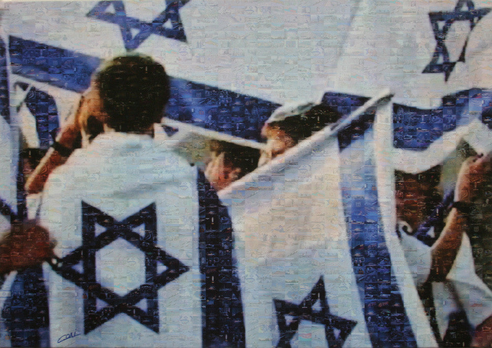 Solidarity - Israeli flag