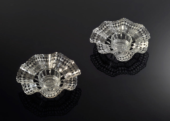 Candle Holders - Metalace Lacy for Tea Light