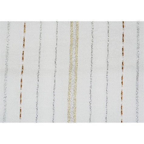 Tablecloths - Silver and Gold Stripes