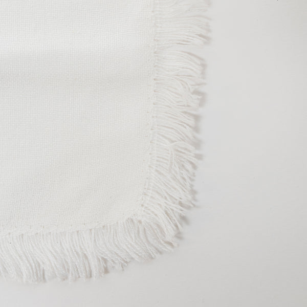 Tablecloths - Classic Design - Silver on White