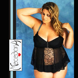 babydoll-nero-curvy-mecedora-lingerie-pizzo-tulle-black-lace