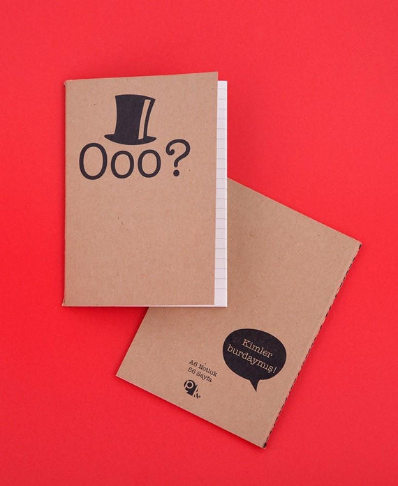 pk design defter exclamation | ooo