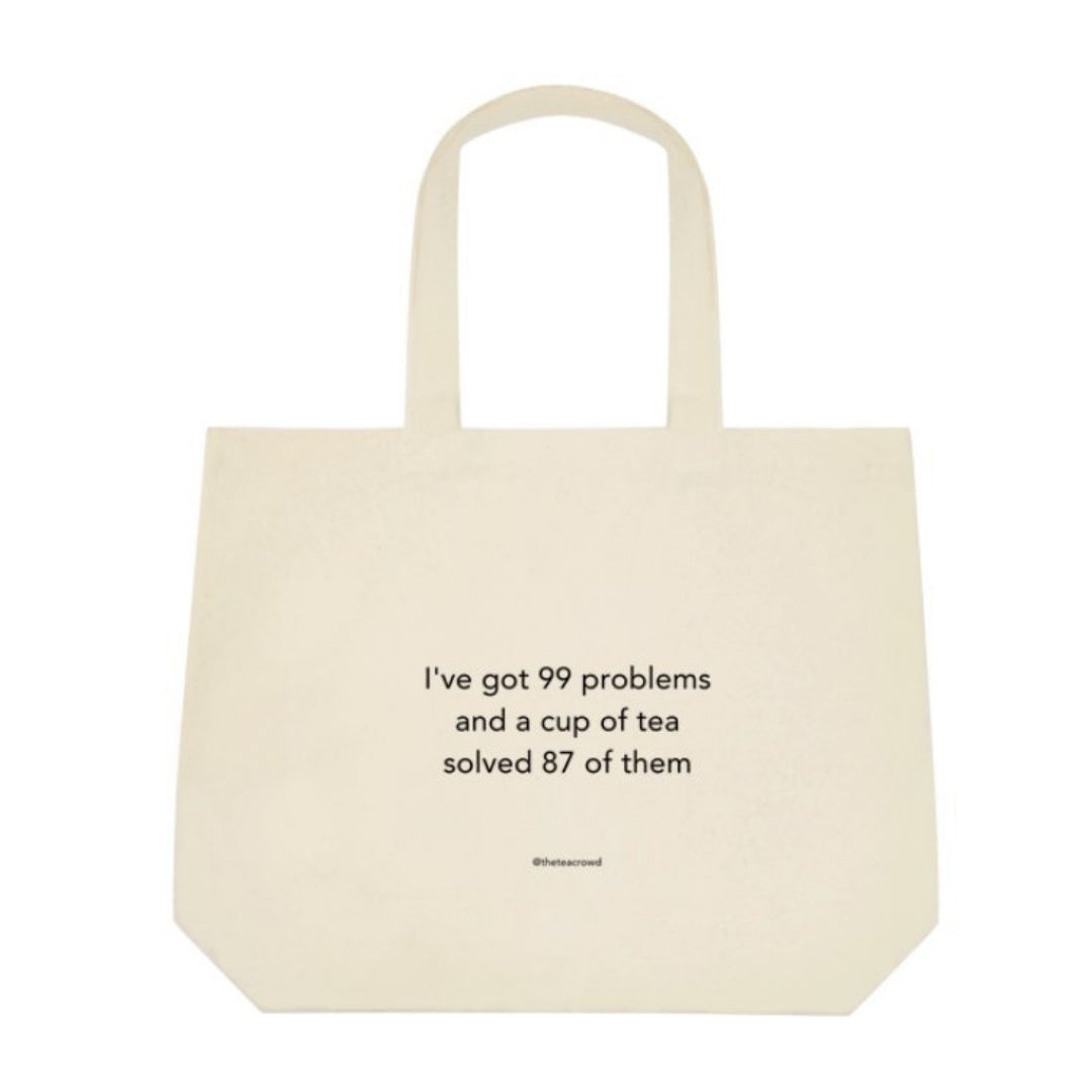 Canvas Tote Bag - '99 Problems'