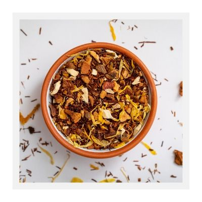 Apple Ginger Cinnamon Rooibos Loose Leaf Tea