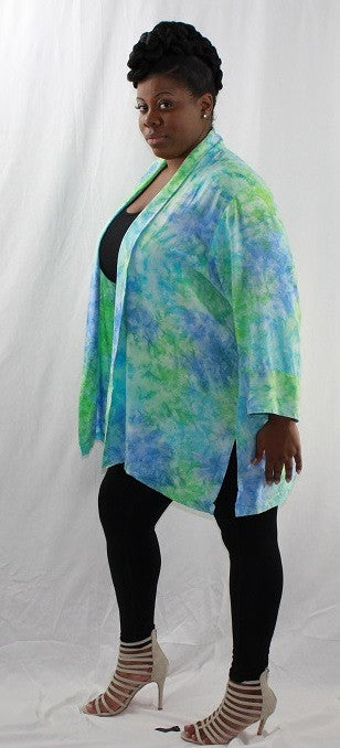 Hand Made Painted Cardigan