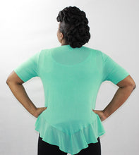 Peplum Stretch Knit Top
