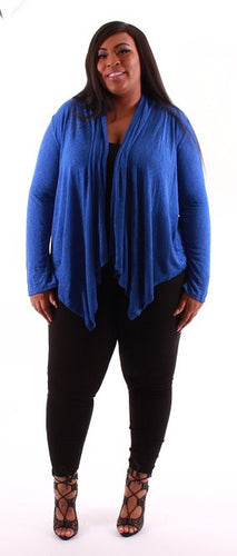 Blue Waterfall Sweater