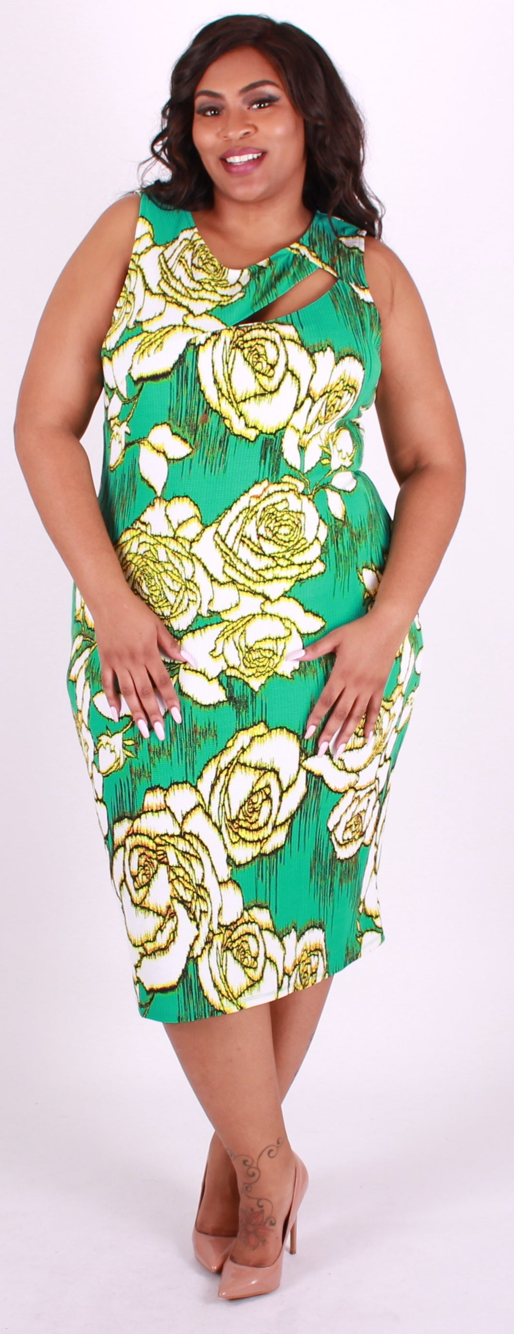 Light Green Sleeveless Dress (Coming Soon)