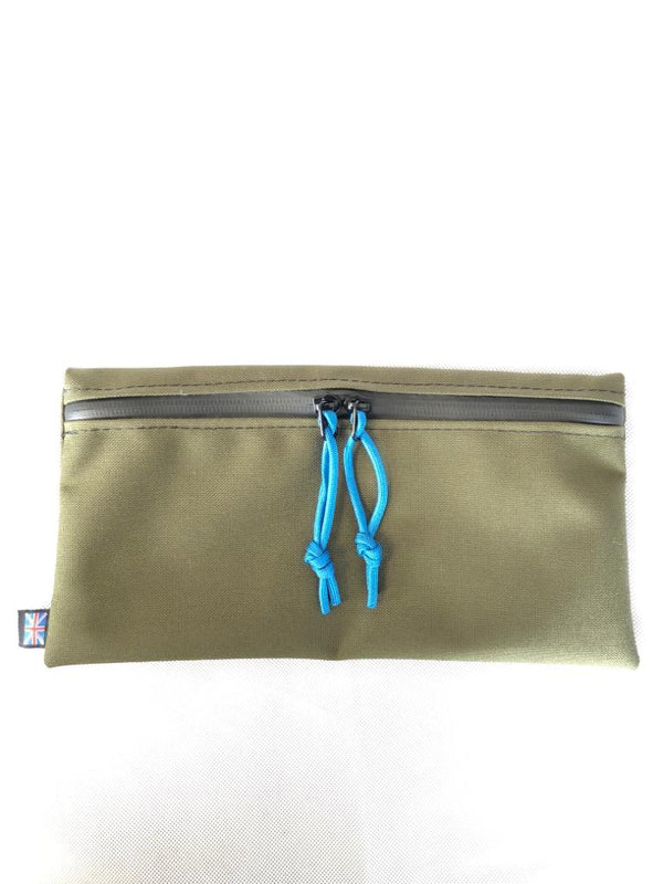 FRV Tailoring OD Green Flat pouch