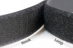 25mm Black Sew On Hook