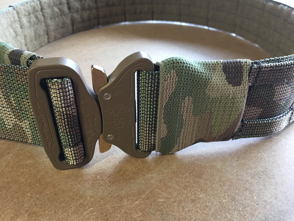 FRV tailoring MTP shooters belt with a D ring.