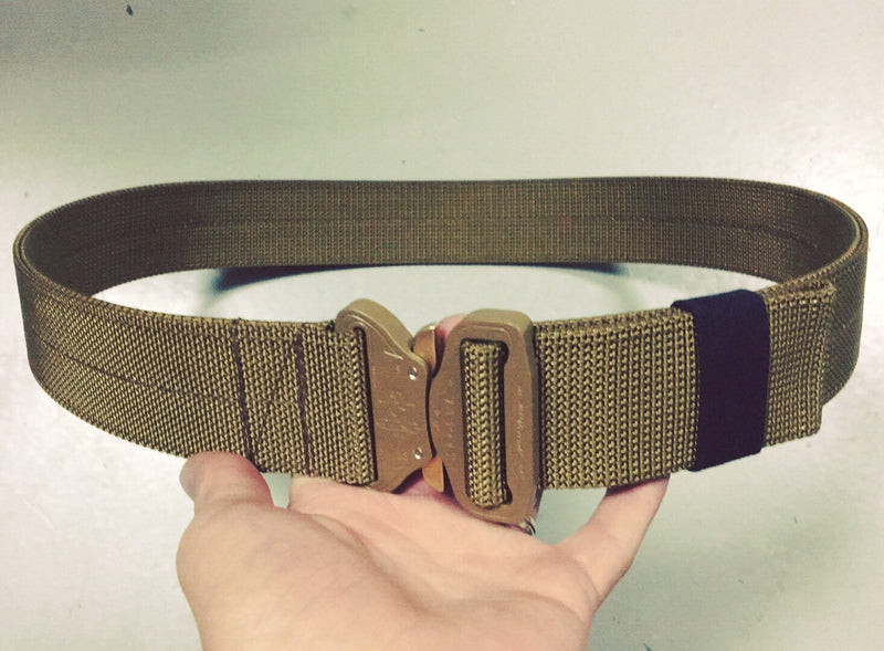 FRV Tailoring Rigid Coyote Brown Duty Belt