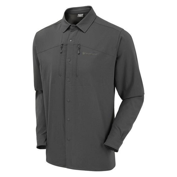 Montane Terra Stretch Shirt in grey