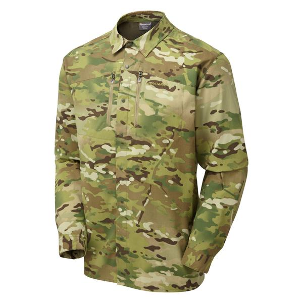 Montane Terra Stretch Shirt in multicam