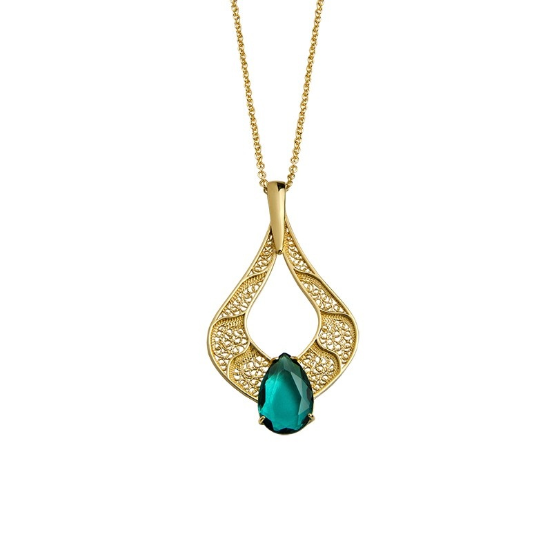 Green Lagoon Necklace
