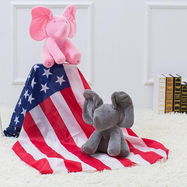 Peekaboo Peggy™ Elephant Toy