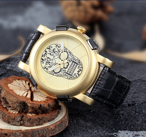 Skull Quartz Watch - GenieMania