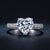 Classic Heart Diamond Princess Ring - GenieMania