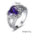 February Birthstone Ring - GenieMania